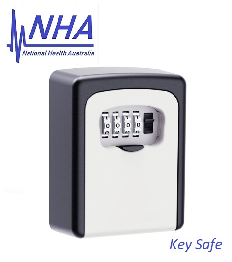 a key safe for emergency or spare keys